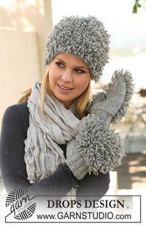 Punto de rulos  en tricot - simples ~ DROPS Design