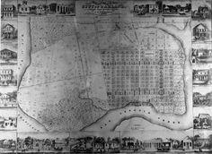 1860 map city of Oakland OPL  HR copl_063 Knowland Neg. 304