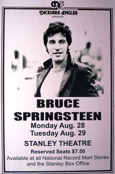Bruce Springsteen at Stanley Theatre August 28 & 29 by Innerwallz
