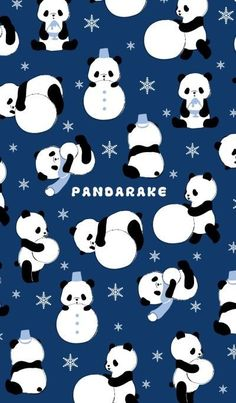 Panda Wallpaper Iphone, Cute Panda Wallpaper, Panda Wallpapers, Cute Wallpaper Backgrounds, Cute Cartoon Wallpapers, Panda Themed Party, Panda Party, Panda Love, Panda Bear