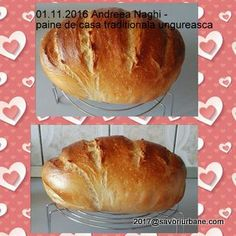 Paine de casa traditionala ungureasca | Savori Urbane Romanian Food, Hot Dog Buns, Desserts, Cabana, Breads, Gardening, Bread Baking, Essen, Tailgate Desserts