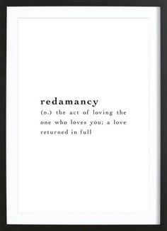 Redamancy als Gerahmtes Poster von JUNIQE | JUNIQE