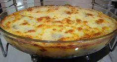 A Torta Rápida de Mandioca é cremosa, deliciosa e você pode variar os recheios a…