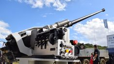 Military and Commercial Technology: BAE Systems successfully demonstrated its 40mm cannon for the U.S. Army