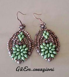 molto carino a1103 8fc85 1236 fantastiche immagini su Orecchini con perline - beads ...