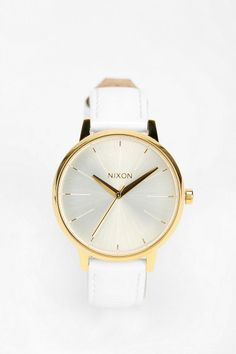 Love. Simple and stylish. Nixon The Kensington Leather Watch - Urban Outfitters