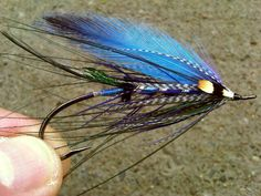 Ice Wisp Spey Fly - I'm going to try this pattern but use dyed bucktail for the wing and use a better quality spey feather option