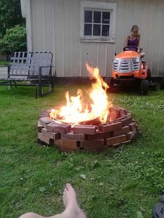 Illegal fire