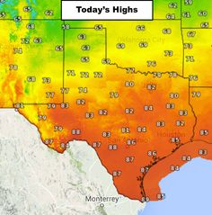 Friday's Weather Roundup - Pleasant Weather Today Good morning and TGIF! Pleasant weather is expected today and into the weekend as yesterday's cool front settles in over the state. This is very welcomed after yesterday's storms which caused more than 250,000 power outages across parts of the DFW metroplex and surrounding c... Read the whole article at http://www.texasstormchasers.com/?p=32305 - Jenny Brown