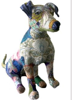 Image of Charlie Blue - Jack Russell Sculpture - Bryony Jennings