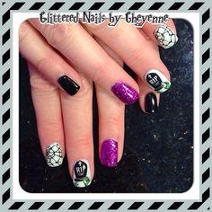 Halloween nail ideas #gel