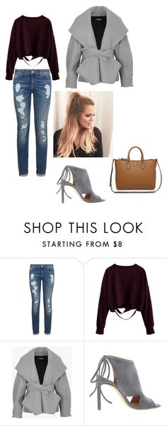 """""""Untitled #344"""" by dream3lov3 ❤ liked on Polyvore featuring Tommy Hilfiger, Balmain, BOSS Hugo Boss and Tory Burch"""