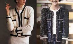 EVERYDAY SEW: ΣΑΚΑΚΙ ΤΥΠΟΥ CHANNEL Chanel, Free Crochet, To My Daughter, Crochet Patterns, Sewing, Womens Fashion, Sweaters, Paper Crafts, Tutorials
