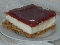 Tarta de queso y membrillo sin cocción ~ Pasteles de colores