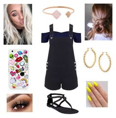 """""""Lottie at Mandalay Bay"""" by annie-stylesx ❤ liked on Polyvore featuring Miss Selfridge, ASOS, Michael Kors and Steve Madden"""