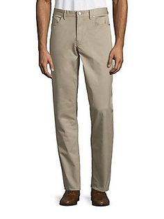 Michael Kors Tailored Cotton Twill Pants -