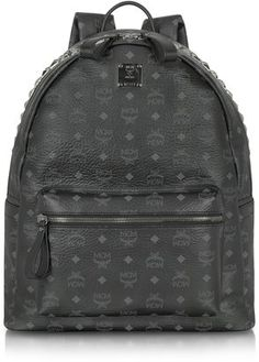 MCM Stark Large Studded Backpack Studded Backpack, Backpack Bags, Mcm Bags,  Well Dressed 68fc1e5963
