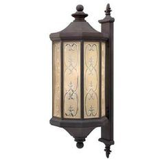 Amazon.com: Hinkley Lighting H1239 Tuscan Four Light Outdoor Wall Lantern / Sconce from the Chateau Collection, Museum Bronze: Lamps & Light Fixtures