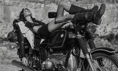 MOTORCYCLE DIARIES | Bohemian Diesel Blog Vanessa Moody, Sebastian Kim, Bmw Boxer, Elle Magazine, Magazine Photos, California Style, Barbara Palvin, Fashion Night, Vogue Paris