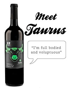 12 Signs Wine — Taurus