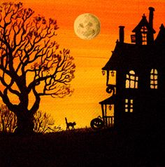 images country painting halloween - Buscar con Google