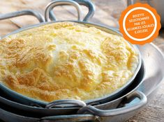 Découvrez la recette Omelette au four sur cuisineactuelle.fr.