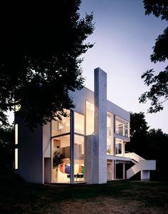 Richard Meier. Smith House. Darien, Connecticut. 1965-67 #architecture #meier