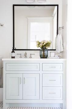 Weiß Bad Eitelkeiten #Badezimmermöbel #dekoideen #möbelideen