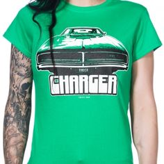 TOXICO - CHARGER #green #madeinbritain #tshirt