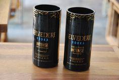 Belvedere Vodka Intense Black Recycled Glass by BottlesNWood