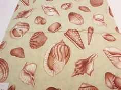 """#Fabric Sample Kravet 24"""" x 24"""" JUST for $12.99  Ocean Bead  Sealife: Salmon Exclusive 100% #Cotton                             + FREE SAMPLES!!! #fabric #supplies #screenprinted #print #cotton #novelty #salmon #exclusive #usa"""