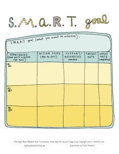 Printables Smart Goal Worksheet Pdf for a reason planner pages and adobe on pinterest fun smart goal sheet