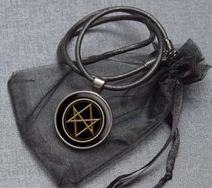 Supernatural Men of Letters unicursal hexagram necklace / Yu Gi Oh Orichalcos / Bring Me The Horizon – Drown symbol