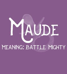 Maude baby girl names baby girl names 2019 Baby Gi girl names girl names 19 Girl Names elegant Girl Names rare girl names vintage Girl Names with meaning E Baby Girl Names, Dutch Baby Names, Baby Girl Names Elegant, Girls Names Vintage, Boy Names, Baby Boy, Elegant Girl, Girl Names With Meaning, Baby Names And Meanings