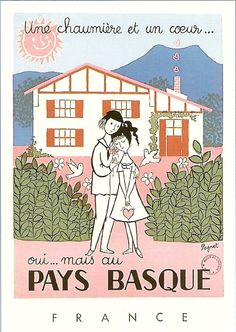 Basque country illustration