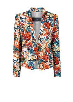 Floral print blazer - MNG !