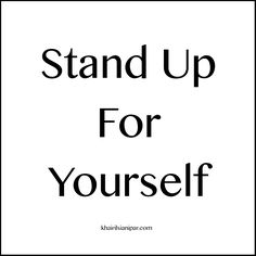 SDR 1015: Stand Up For Yourself - http://www.khairilsianipar.com/2016/11/03/stand-up-for-yourself/