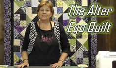 Make the Alter Ego Quilt Using Layer Cakes!