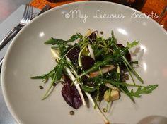 """Restaurant """"MBC Gilles Choukroun"""" - """"Foie gras, lentilles & pissenlits""""  http://www.myliciousecrets.fr/2014/03/mbc-gilles-choukroun.html"""