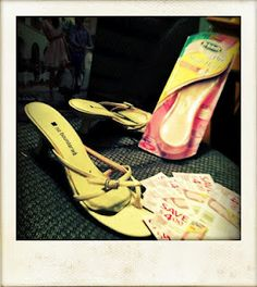 Bzz Review: Dr Scholls for her high hells insoles
