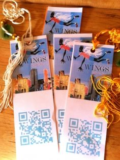 QR code bookmarks!