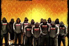 Miami Heat supporting Trayvon Martin