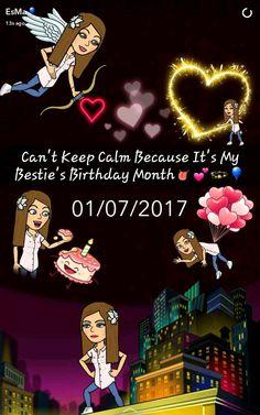 Bestie's birthday month👅💕💫🎈 Happy Birthday Wishes Bestfriend, Advance Happy Birthday Wishes, Cute Birthday Wishes, Happy Birthday Quotes For Friends, Birthday Girl Quotes, Birthday Blessings, Happy Birthday Sister, Happy Birthday Images, Birthday Text