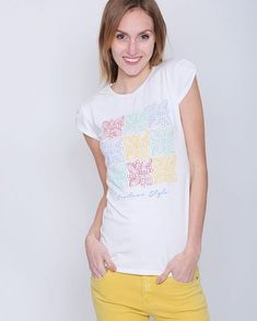 Casual Spring LookGet Inspired at www.capriccioshop.gr  #tshirt #woman #women #mylook #springismyfavorite #mood #fashion #styleblogger #stylish #pants #casual #casuallook #trend #lateststyle #girls #girly #suitsyou #tshirts #mystyle #addicted #cute #follow #instaphoto #mood #moodoftheday #casuals #fashionista #cool