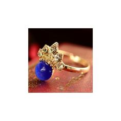 Gemstone Ring ($8.90) ❤ liked on Polyvore featuring jewelry, rings, kid fashion, women, gemstone jewelry, gem rings, cats eye ring, cats eye jewelry and gemstone jewellery