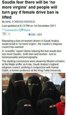 Saudi arabian men losing their virginity
