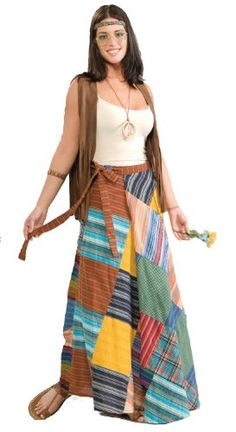 Forum Novelties Women's 60's Hippie Revolution Patchwork Skirt, Multi, Standard Forum Novelties http://www.amazon.com/dp/B001BYFBIU/ref=cm_sw_r_pi_dp_I99Kub152Q6VS