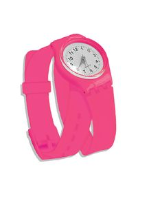 All for Color. Pink Wrap Around Watch