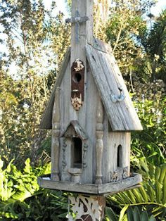 Weird Bird Studio: Bird houses, can you have too many???