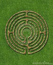 Meditation 6 circuit labyrinth illustrate with stone / bric circuit labyrinth. Meditation 6 circuit labyrinth illustrate with stone / bric , How to Design a Labyrinth Walking Meditation, Meditation Garden, Garden Art, Garden Design, Garden Ideas, Garden Crafts, Labyrinth Maze, Crop Circles, Sacred Geometry